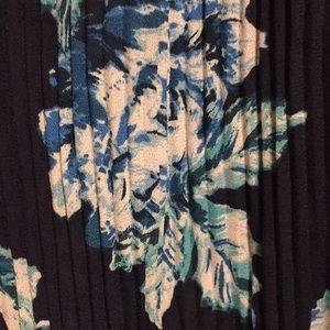 Lovely navy print blouse